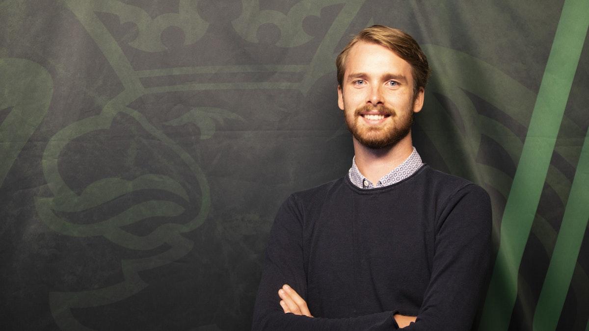 Joel Nordström ny reporter i Rögle BK