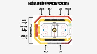Arenakarta, Monitor ERP Arena, karta
