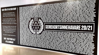 Wall of Fans, Brynäs IF, seriekortsinnehavare 2020/21, pandemi
